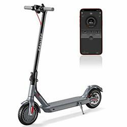 Eskute App Electric Scooterup To 18.6 Miles And 15mph8.5 Solid Tires350w Motor