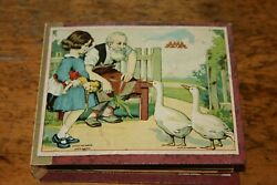 Outstanding Antique Squeak Toy Book Germany