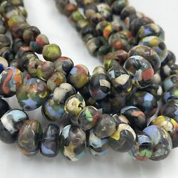 Sale 5 Strands Lovely Ancient Roman Old Mosaic Glass Rare Beads Strand Necklace