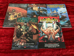 Trinity Adventure And Sourcebook Lot 5 Different Books New White Wolf