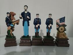 Civil War Chess Set Pieces - 32 Figures Only No Board