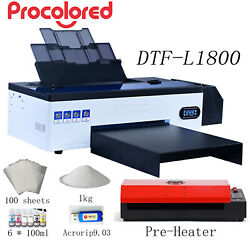 Procolored L1800 Dtf Printer A3 Bundle Direct To Film Printer For Home Business
