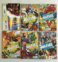 History Of The Marvel Universe 1 - 6 Complete Set Marvel Comics Run By Mark Waid