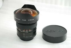 Contax Carl Zeiss Distagon 15mm F3.5 West Germany For Contax Excellent 4290