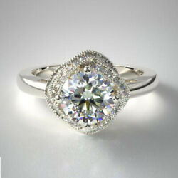 0.80 Carat 950 Platinum New Real Diamond Wedding Ring For Womenand039s Size 5 6 7 8 9