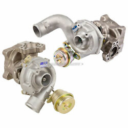 For Audi S4 B5 A6 And Allroad 2.7 Twin Turbo Pair Oem Borgwarner Turbochargers Tcp