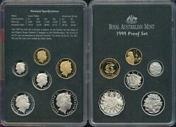 Australia. 1999 Proof Set In Ram Packaging Cat 195 Rare Year Of Older Person