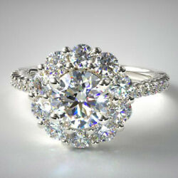 1.00 Ct Diamond Semi Mount Engagement 950 Platinum Ring For Her Size 5 6 7 8.5 9