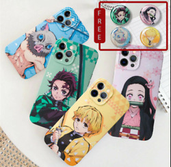 Anime Demon Slayer Phone Case For Iphone 12 11 Pro Max Xr Xs Max New Phone Case