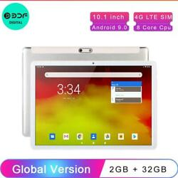 10.1 Inch Tablets Android 9.0 Os 4g Phone Call Smart Pc Android Tablet Android 2