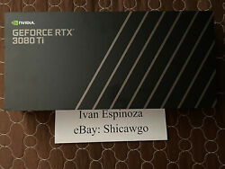 Nvidia Geforce Rtx 3080 Ti Founders Edition 12gb Graphics Card With Receipt New