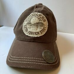 Guinness Extra Foreign Stout Brown Bottle Opener Hat Black