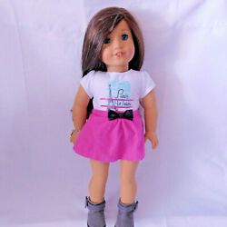 American Girl Doll 2014 Grace Thomas Doll Outfit + Charm Bracelet
