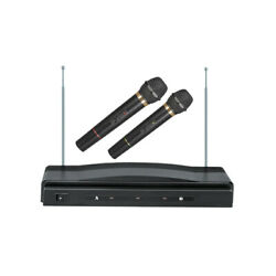 Supersonic Sc-900 Handheld Wireless Professional Dual Microphone System