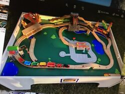 Brio Play Table With Train Sets