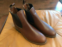 Size 8d 9437 Red Wings Williston Chelsea Boots In Teak Factory Seconds