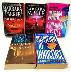 Barbara Parker Ny Times Best Seller Lot Of 5 Books