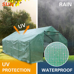 Heavy Duty Greenhouse Plant Gardening Walk-in Green House Grow Tent Portable Us