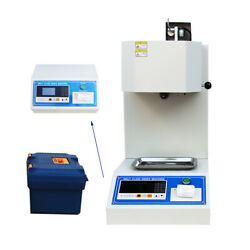 110v Melt Flow Rate Index Tester Machine With Printer And Lcd Screen