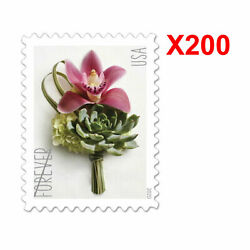 200pcs Usps Forever Contemporary Boutonniere 2020 Us Postage Stamp Free Shipping