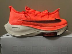 Nike Air Zoom Alphafly Next Bright Mango Ci9925-800 Limited 100 Authentic