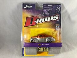 Jada Toys D-rods 2005 Wave 1 Andlsquo40 Ford Brand New - Rare 164 - Cltr 006
