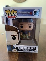 Funko Pop Games Uncharted Action Figure - Nathan Drake,multi-colored
