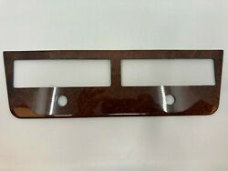 For Mercedes W111 Climate Panel Console Center Light Walnut Color