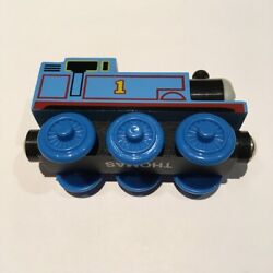 3-pack Thomas The Tank Engine Solid Wooden W/magnet Connecter