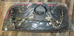 New Hoyt Redwrx Carbon Rx-4 Compound Bow 60-70 Draw W/ Bow Case And Hoyt Hat