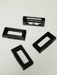 Carcano 6 Round Steel Stipper Clips Set Of 4 Pieces.