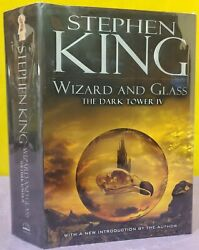 Stephen King Wizard And Glass Dark Tower Iv Hardcover Book Dj First/1st Viking