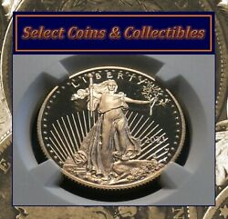 2021 W Gold 25 Eagle 1/2 Oz Ngc Pf 69 Ultra Cameo Type-1 Early Releases 950