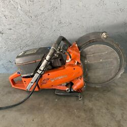 Husqvarna K960 14and039and039 Ring Concrete Saw Gas Power Cutter Handheld Cut Off