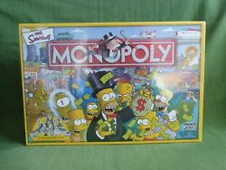 Monopoly The Simpsons 2003 Board Game Hasbro Parker - Complete Brand New Sealed