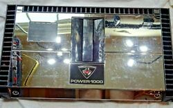 Used Old School Rockford Fosgate Power 1000 25 To Life 5 Channel Amp Works Fine