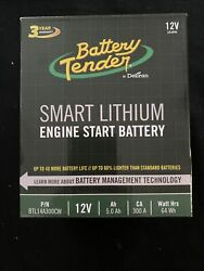 Battery Tender 5.0ah 300ca Lithium Engine Start Battery With Smart Bms