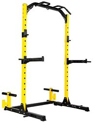 Power Rack Squat Rack Pull Up Dip Station Home Gym Weight Lifting Equipment