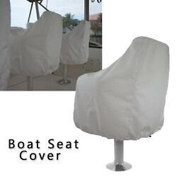 1pc Outdoor Boat Seat Cover Yacht Boat Seat Cover 210d Waterproof Anti-uv Covers