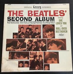 Capitol Record Club /// The Beatles' Second Album- Stereo St8-2080 Vg+