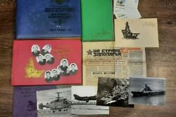 Rare Historical Albums With Photos Of The Navy Of The Aircraft Carrier Kiev Of