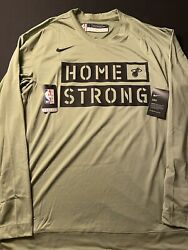 Nike Dry Nba Miami Heat Home Strong Authentic Shooting Practice Shirt Size Xlt
