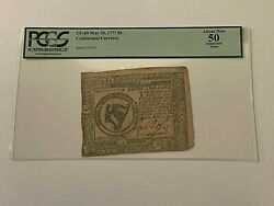 Cc-69 May 20 1777 8 Continental Currency Pcgs 50 About New