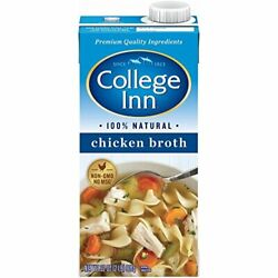 College Inn Natural Chicken Broth 32 Fl Ounce Pack Of 12