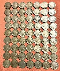 198 Nickels Coins From 1883-1983 30 V-nickels 105 Jefferson63 Buffalo Nickels