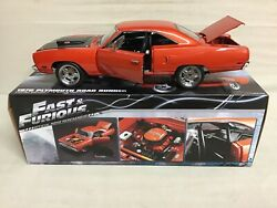 Road Runner Doms Copper Fast And Furious 7 Movie 440 Six Barrel 1970 Plymouth Gmp