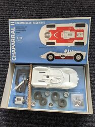 Strombecker 1/24th Scale Chaparral Ii Slot Car Race Car - Nos Vintage Toy 1966