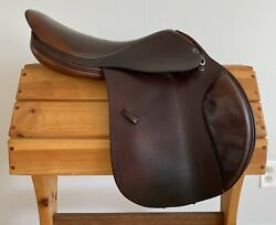 """Tad Coffin A5gt 17-17.5"""" 7570 Close Contact/ Jumping Saddle"""
