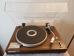 Kenwood Kd-3077 Turntable With Adc Cartridge
