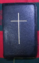 Vintage Common Prayer Hymn Book Canada Oxford Black Leather Bible Oxa2886sy
